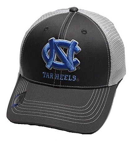 the best attitude 3fc17 fc023 Amazon.com   UNC North Carolina Tar Heels Adjustable Gray Cap Mesh Back Hat    Sports   Outdoors