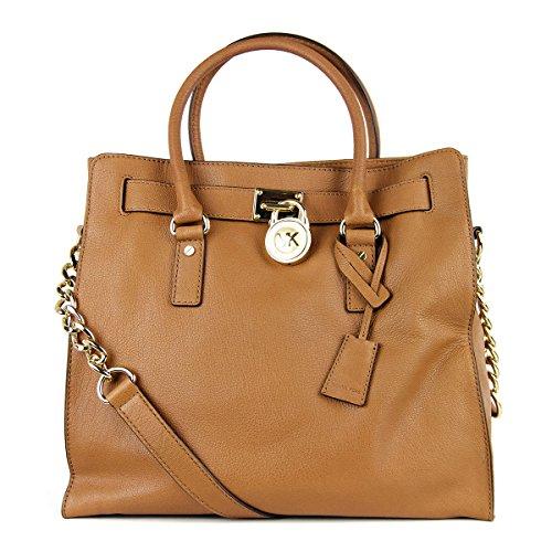 Michael Kors Hamilton Women's Large Tote Handbag Bag Purse North/South