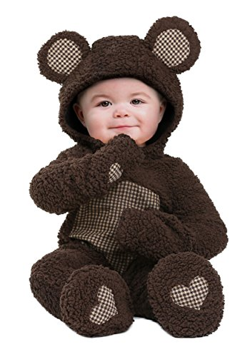 Baby Bear Infant Costume Infant Teddy Bear Costume 3/6 Months Brown]()