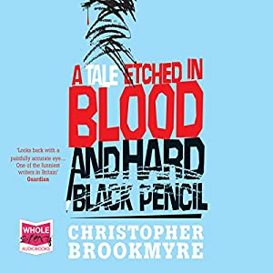 A Tale Etched in Blood and Hard Black Pencil Hörbuch