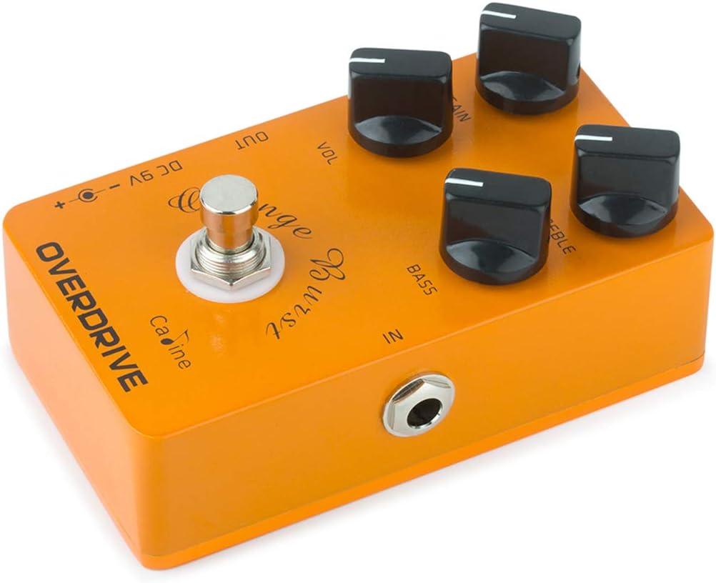 Overdrive/« Pedale Effetto Per Chitarra Caline/® /»CP-18 Orange Burst