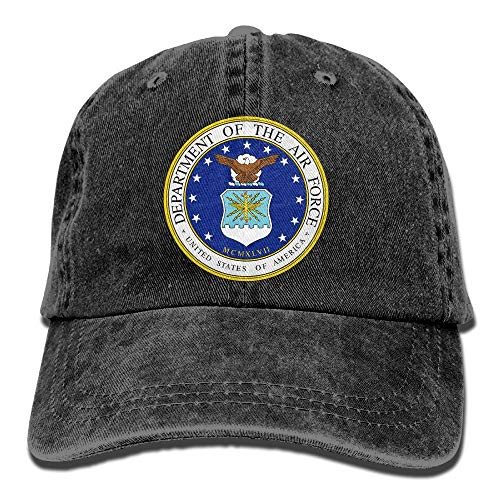 Price comparison product image NEST-HOMER Unisex US Air Force Department Baseball Cap Cowboy Hat Adjustable Snapback Adult