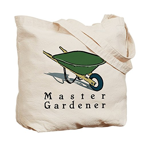 Cafepress–Master Gardener–Borsa di tela naturale, tessuto in iuta