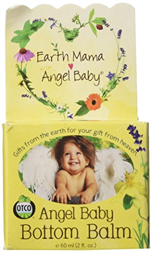 Angel Baby Bottom Balm Natural Cloth Diaper Cream (2 Fl. Oz.)