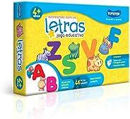 Jogo de Encaixar Brincando com as Letras Toyster Brinquedos