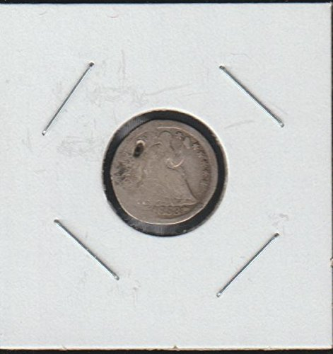 1853 Liberty Seated (1837-1873) Half Dime About Good