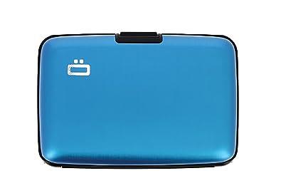 OGON - Cartera para hombre azul azul 10.9 (L) x 7.2 (H) x 1.9 (E) cm: Amazon.es: Zapatos y complementos