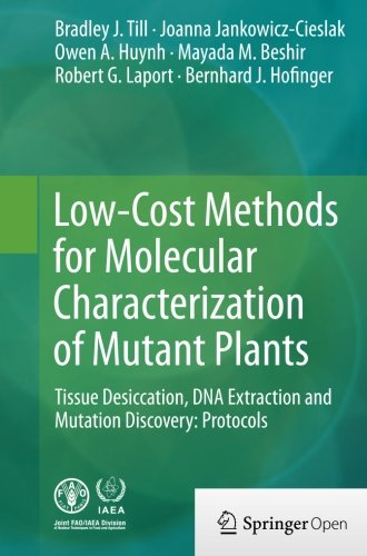 Low-Cost Methods for Molecular Characterization of Mutant Plants: Tissue Desiccation, DNA Extraction and Mutation Discov
