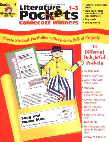 Literature Pockets: Caldecott Winners, Grades 1-3