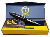 Tion Brush Iron 3/4' Ceramic Ionic Hot Curl Heat Roller Brush Hair Iron