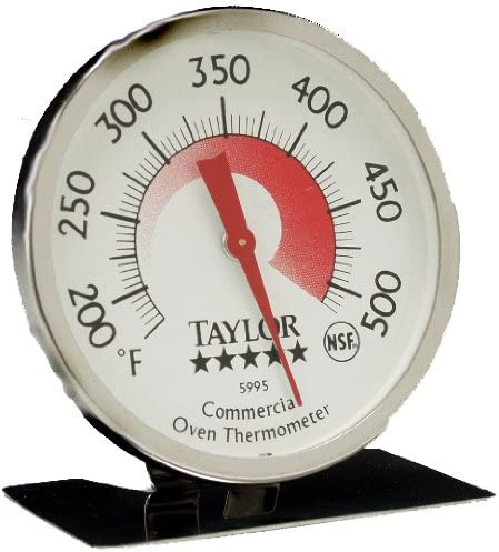 Taylor Classic Series Large Dial Oven Thermometer Renewed