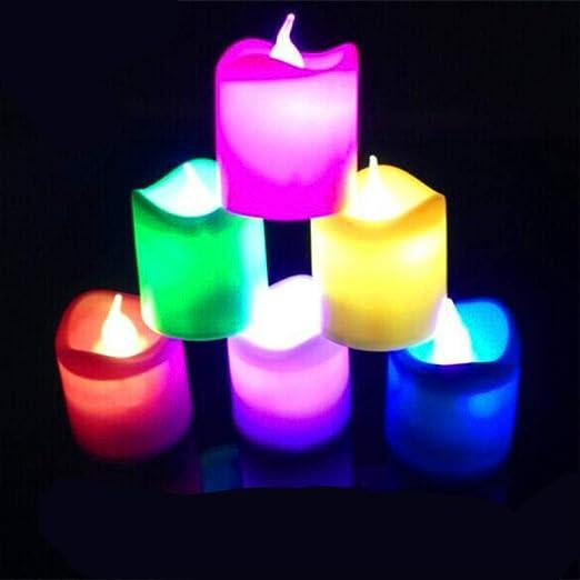 Onda luz de vela electrónica/led vela electrónica/matrimonio ...