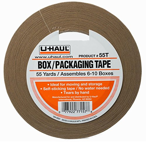 Box Packing Tape (U-Haul Packaging Tape 1-3/4