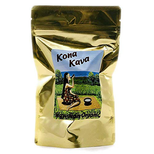 Kona Kava Farm Premium Instant Kava Mix 9% Kavalactone | Kava Root Extract Supplement Drink Mix For Stress and Anxiety Relief | Available in Chocolate and Banana Vanilla (Banana Vanilla, 8 oz)