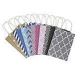 Hallmark 5EGB6051 - Bolsa de regalo (12 unidades, tamaño mediano, multicolor)