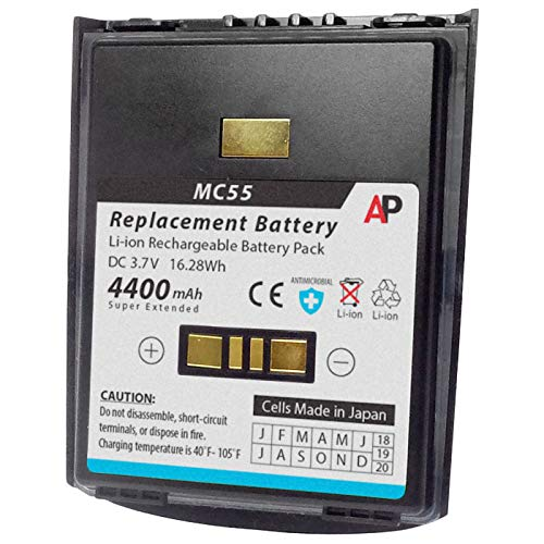 - Artisan Power Motorola/Symbol MC55 & MC65 Series: Replacement Battery. 4400 mAh Super Extended Capacity
