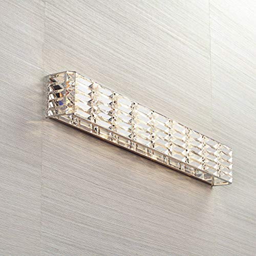 Vivienne Modern Wall Light Chrome Cut Crystal 35