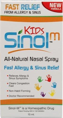 Sinol enfants - rapide Allergies et sinus de secours 15 ml