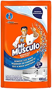 Limpador Mr Músculo Banheiro Total Refil 400ml