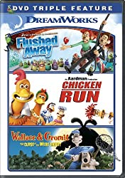 Flushed Awaychicken Runwallace & Gromit Triple Feature