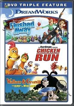 Flushed Awaychicken Runwallace & Gromit Triple Feature 0