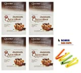 Quest Nutrition Protein Bar, Chocolate Chip Cookie Dough 2.1 Oz. + Free Bag Clips .(48 Bars + 4 Bag Clips)
