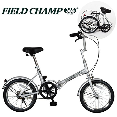 折りたたみ自転車 折り畳み自転車 折りたたみ自転車 折り畳み自転車 16インチ フィールドチャンプ FIELD CHAMP365 FDB16 No72750 B01DQZNDIQ