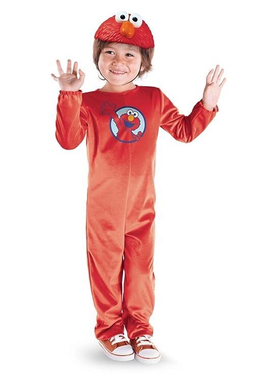 Barrio Sésamo Sesame Street Elmo Costume Age 4-6 years (disfraz ...