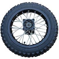 X-PRO 12″ Rear Wheel Rim Tire Assembly for 110cc 125cc 140cc 150cc Dirt Bikes