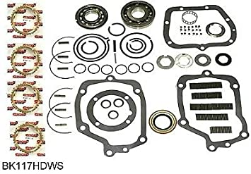 Muncie 4 Speed Transmission Rebuild Kit - Max Load Bearings