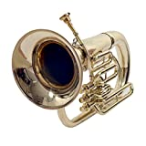 EUPHONIUM 3 VALVE Bb PITCH BRASS WITH BAG AND MP
