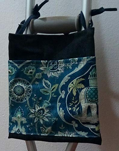 Flower Crutch Bag Pouch Storage from Craft and Sewing Box