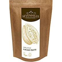 Sevenhills Organics Cacao Paste 500g, certified organic by Soil Association
