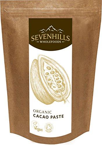 Sevenhills Wholefoods Kakaomasse Bio, Wafers 500g