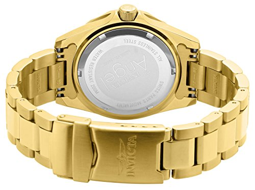 Amazon.com: Invicta Womens 14397 Angel Analog Swiss-Quartz Gold Watch: Invicta: Watches