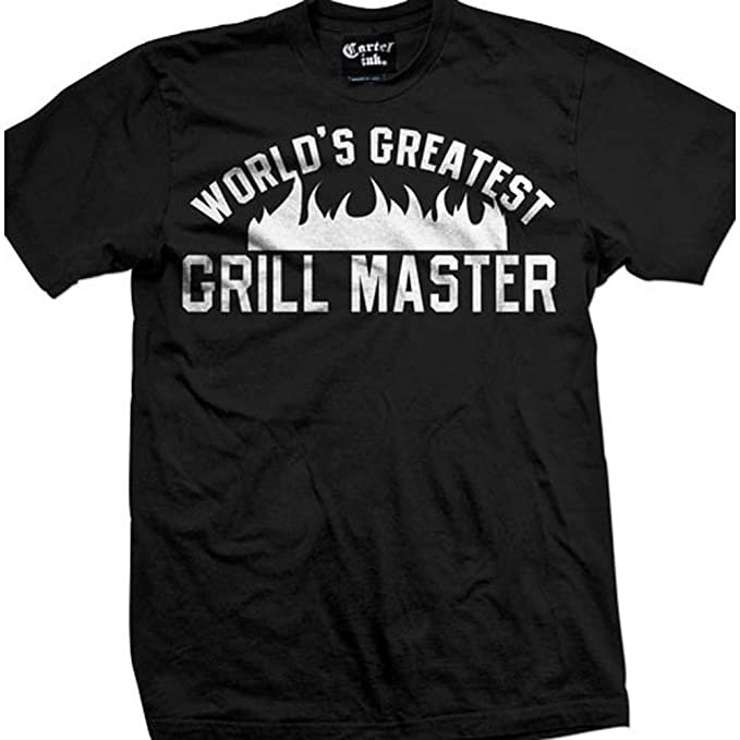 Amazon.com: Cartel Ink Mens Worlds Greatest Grill Master T ...