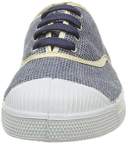 Bensimon F15004C248, Damen Sneaker, Blau - Bleu (9985 Pied de Puce), 41 EU