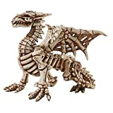 Design Toscano Corpus Crux Gothic Dragon Skeleton Statue, Full Color