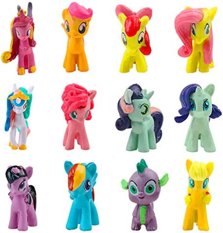 my little pony cake decorating ideas.htm amazon com inspired by my little pony cake toppers cupcake  inspired by my little pony cake toppers