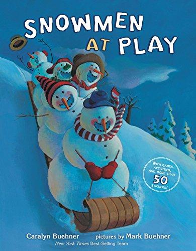 Snowmen at Play (Snowmen Christmas At)