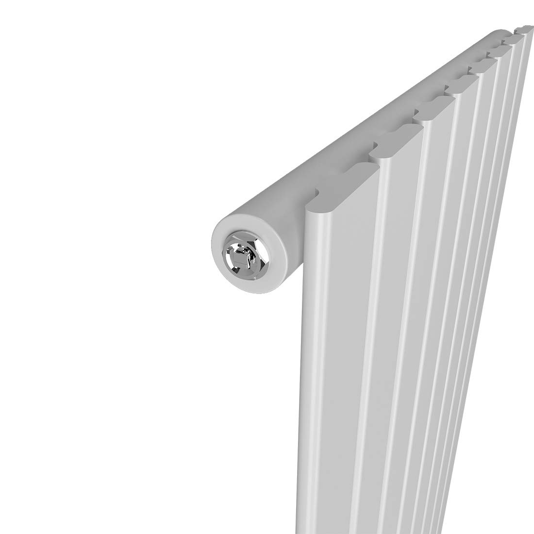 Wei/ß Meykoe Heizk/örper Flach 1800x500mm PaneelHeizk/örper Design Heizung Vertikal Doppellagig Mittelanschluss