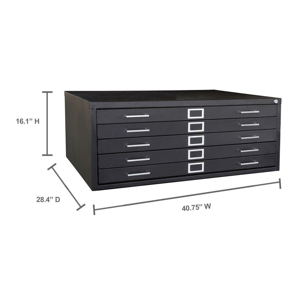 Amazon sandusky lee 244876bk black steel 5 drawer flat file 16 amazon sandusky lee 244876bk black steel 5 drawer flat file 16 18 height x 40 34 width x 28 38 depth industrial scientific malvernweather Image collections