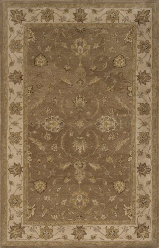 Court Runner Area Rug (Momeni Rugs IMPCTIC-04LBN2680 Imperial Court Collection, 100% Wool Hand Tufted Traditional Area Rug , 2'6
