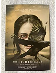 "THE NIGHTINGALE - Original Movie Postcard D/S 4""x6"" 2019"