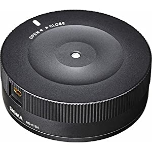 Sigma 30mm F1.4 ART DC HSM Lens for Canon Digital SLR Cameras (301101) with Sigma USB Dock for Canon Lens & Sandisk 32GB Extreme SD Memory UHS-I Card
