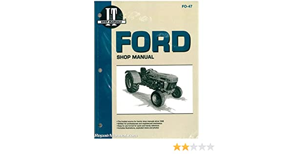 FO-47 Ford New Holland 3230, 3430, 3930, 4630 and 4830 Tractor Workshop  Manual: by Author: Amazon.com: BooksAmazon.com