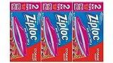 ziploc freezer pint - Ziploc Double Zipper All-Purpose Storage Quart Value Pack Bags - 50 CT (Pack of 3)