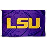 Louisiana State LSU Tigers Purple Flag