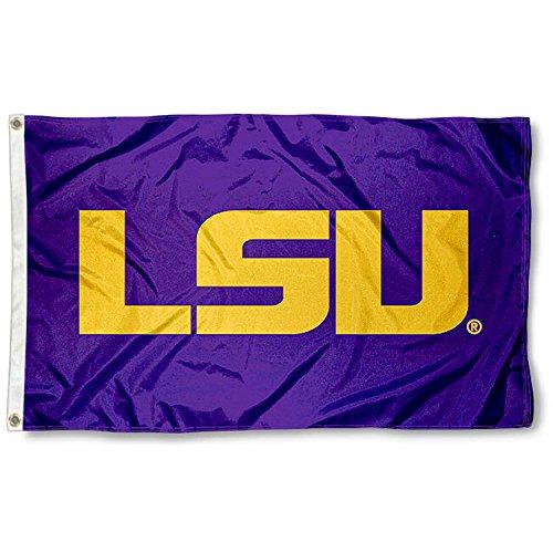 Louisiana State LSU Tigers Purple Flag