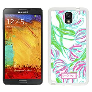 Popular Samsung Galaxy Note 3 Case ,Lilly Pulitzer 03 White Samsung Galaxy Note 3 Phone Case Unique And Durable Designed
